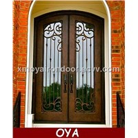 Iron front main door design