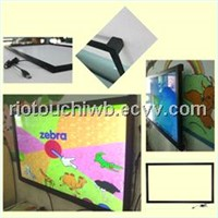 Large size USB IR touchscreen touch screen overlay kit from Riotouch factory for sale