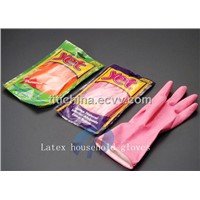 Latex Household Gloves(Flocklined / Polymerlined / Unlined)