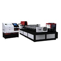 Metal sheet and tube laser cutting machine