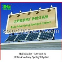 Outdoor Billboard Solar Power System