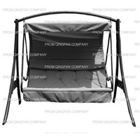 Outdoor swing chair with canopy(QF-63080)