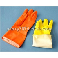 Polymer lined  household Gloves latex