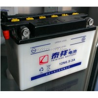 Rechargeable 12V6.5ah motorcycle battery