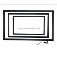 Riotouch 2 points touchscreen multi touch overlay kit for LCD/LED TV