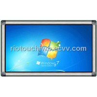 Riotouch infrared multi touch screen monitor for teaching or advertising