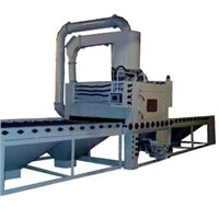 Roller Conveyor sand Blasting Machine