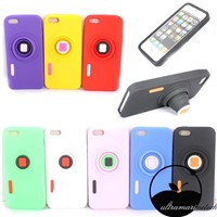Stand silicon cases for iphone 5