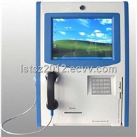 Touch Screen IP/Cell Phone Wall-mouted Kiosk