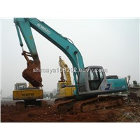 Used Kobelco SK210 Crawler Excavator