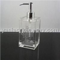 acrylic soap dispenser