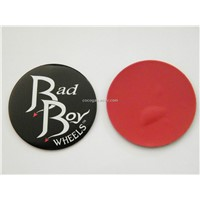 aluminum wheel cap, metal car sticker, wheel center cover