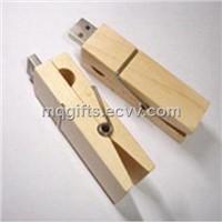 Classic Moistureproof Wooden USB Stick