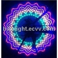 colorful fashion led bicycle wheel monkey light
