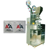 double lane salt pepper sachet filling and packaging machines