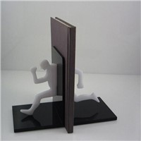 novel design acrylic bookends