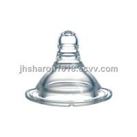 standard caliber liquid silicone nipple