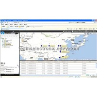 gps tracking system with client version and web version, real time tracking function