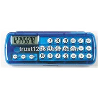 8 digit pencil box with calculator button battery  included for school and pomotion gift