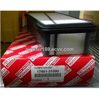Environmental-friendly Panel Air Filter 17801-31090 355.6*165*62.5(mm)