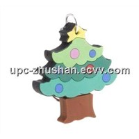Hot Popular Christmas Tree Shaped USB Mass Storage Disk