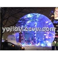 Human Size Snow Globe for Christmas Event Party and Decoration