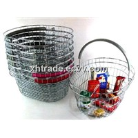 Top Grade Shopping Basket, Oval-Shaped Supermarkets Basket