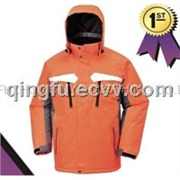 3 in 1 ski jacket/hiking cloth/snowboard jacket