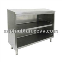 All Stainless steel Storage Cabinets and Dish Racks