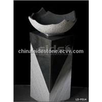 Art shape floor standing wash basin LD-F014