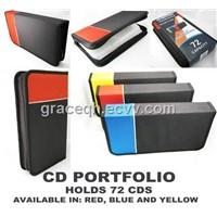 CD Holder DVD Case Storage Wallet Car Disc Organizer Holder Media Dj Bag 72 New