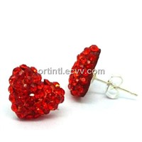 Crystal Stud Earrings TTCJ-045E