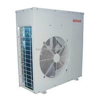 EVI air to water heat pump for low temperature