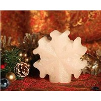 LED wax snowflake candle /Christmas gifts