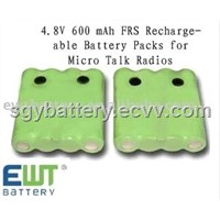 NI-MH 4.8V 600 mAh Cobra FA-BP Battery