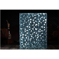 New Apple iPad3 & iPad2 Protective Cover, Diamond Pattern Protective Cases, Luxury Leather Cover