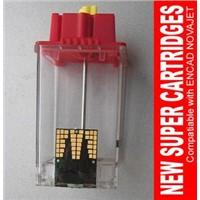 New Compatible 600dpi Transparent Novajet Cartridge for Encad 750/700/600/600e/630/880/850 Printer