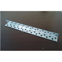 Preforated galvanized steel corner angle / L wall angle
