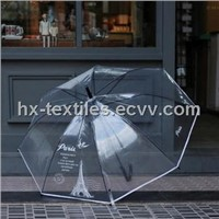 Promotional Umbrella Transparent in Fashion