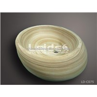 Rainbow sandstone wash basin LD-C075