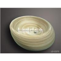 Rainbow sandstone wash basin LD-C075