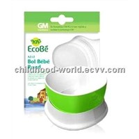 Safe Round Bowl for Infants, Ecobe A 212