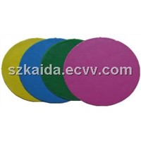 Silicone rubber for spin casting