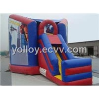 Spiderman Jumping Inflatable Bouncy Castle