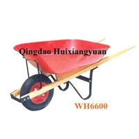 Steel Tray Wood Handle Wheel Barrow(WH6600)