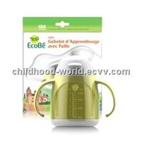 Straw-type Drinking Trainer Cup for Infants, Ecobe A303