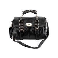 Trendy Soho Leather Satchel,designer bag