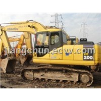Used Crawl Excavator - Komatsu PC200-7