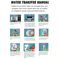 Water Transfer Printing Paper A4 Size(White /Transprant)Water Slide Decal Paper Use Inkjet Printer