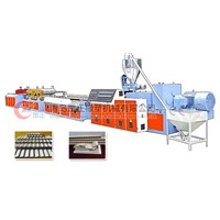 XQ Series PVC, PE, PP, wood (foamed) Profile wide plate production line